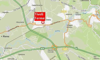 Tivoli terme how to arrive to acque albule spring - Terme bagni di tivoli orari e prezzi ...