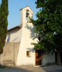 Lato frontale della chiesa di san Quirico