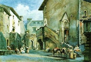 Tivoli tivoli medioevale la casa gotica di via for Casa di architettura gotica
