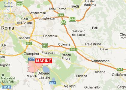 Cartina Roma Ciampino.Marino Come Arrivare A Marino